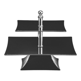 Taartstandaard vierkant - 25x25/35x35cm