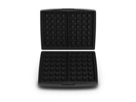 Set bakplaten Brusselse/Luikse wafels (4 x 6) - voor Combi Grill CW2428