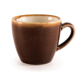 Olympia Kiln espressokopjes bruin 8,5cl