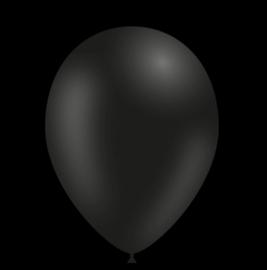 Feest ballonnen - 30cm -zwart