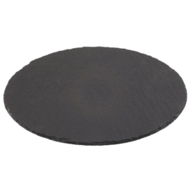 Olympia GN leisteen display bord rond 33cm