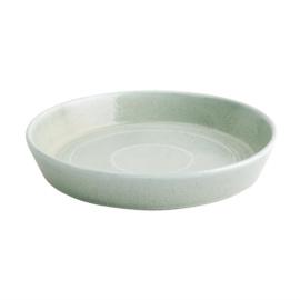 Olympia Cavolo platte ronde schaal zacht groen 22cm