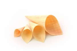 Puntzakje hout FSC Ø 30 x 30/85 mm