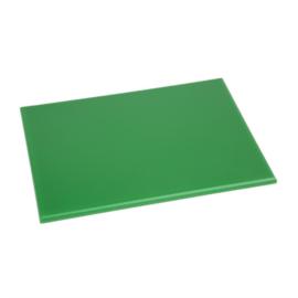 Hygiplas HDPE snijplank groen klein - 12(h)x300(b)x225(d)mm