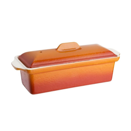 Vogue paté- en terrinevorm oranje 1,7ltr