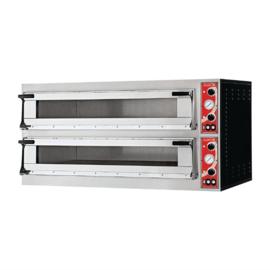 Gastro M Napels pizzaoven met 2 kamers