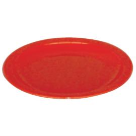 Kristallon polycarbonaat borden 23cm rood