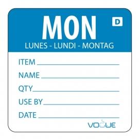 Dagstickers oplosbaar maandag