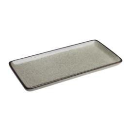 Olympia Mineral rechthoekig bord 23x12cm