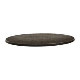 Topalit Classic Line rond tafelblad hout 60(Ø)cm