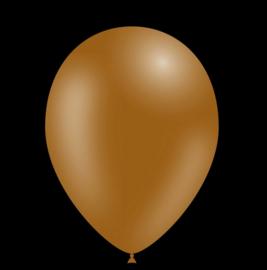 Feest ballonnen - 30cm -bruin