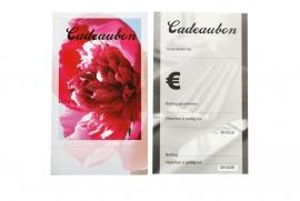 Cadeaubon FLOWER, 25 stuks inclusief enveloppen BH450100