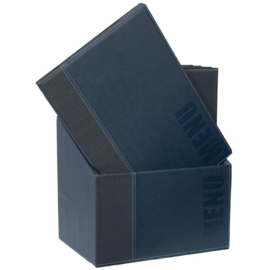 Securit menumap Trendy 20st + box blauw