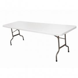 Bolero inklapbare tafel 244cm wit
