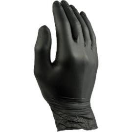 Pearl zwarte poedervrije Nitrile handschoenen zwaar