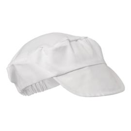 Whites bakkers cap wit