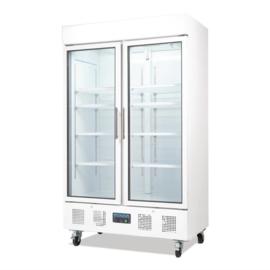 Polar 2-deurs displaykoeling 944ltr