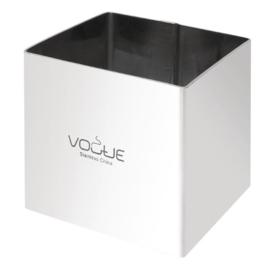 Vogue vierkante moussering 6x6x6cm