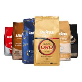 Lavazza – proefpakket – koffiebonen – 6 kg