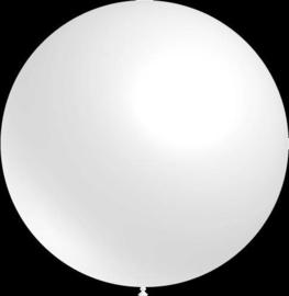 Mega grote ballonnen - 100cm - wit