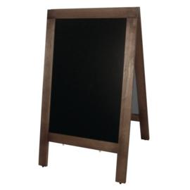 Olympia houten stoepbord 70 x 120 cm