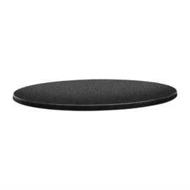 Topalit Classic Line rond tafelblad antraciet 60(Ø)cm