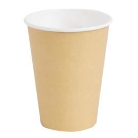 Fiesta koffiebekers enkelwandig lichtbruin 34cl