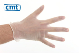 CMT Handschoenen Vinyl Poedervrij Wit XL