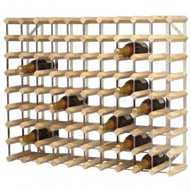 Wijnrek van hout en metaal voor 90 flessen artikel BHdn635