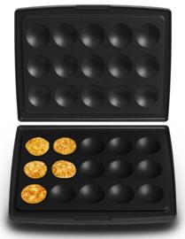 Set bakplaten Poffertjes / blini's- voor Combi Grill CW2428