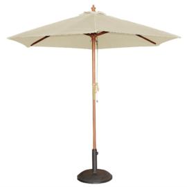 Bolero ronde crème parasol 3 meter