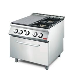 platenfornuis 70/80 TPPCFG + oven