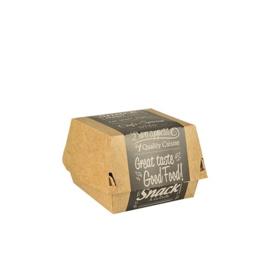 Hamburgerbakken groot (Good Food), Karton | 11,3x11cm