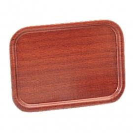 Dienblad fineer mahonie 32 x 24cm artikel BHj831
