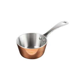 Vogue Triwall mini koperen sauteuse 8cm