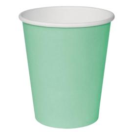 Fiesta koffiebekers enkelwandig turquoise 340ml