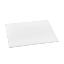 Hygiplas HDPE snijplank wit  klein 12(h)x300(b)x225(d)mm