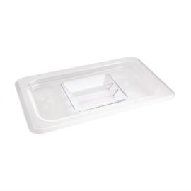 Vogue polycarbonaat deksel transparant GN 1/4