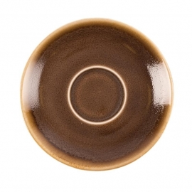 Olympia Kiln espressoschotels bruin 11,5cm