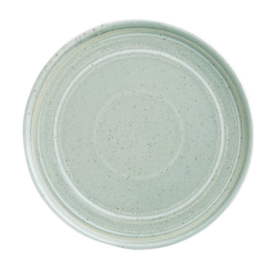 Olympia Cavolo plat rond bord zacht groen 22cm