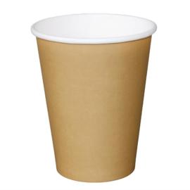 Fiesta koffiebeker enkelwandig kraft 455ml