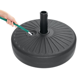 Bolero kunststof parasolvoet 20ltr capaciteit
