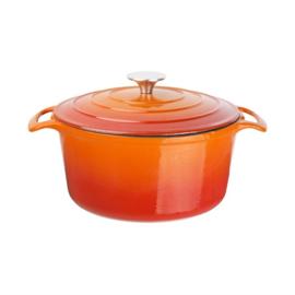 Vogue ronde braadpan 3,2L oranje