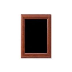 Wandkrijtbord mahonie 28 x 42 cm