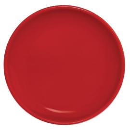 Olympia Café coupeborden rood 20cm