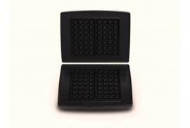 Set bakplaten Belgische wafels - voor Combi Grill CW2428