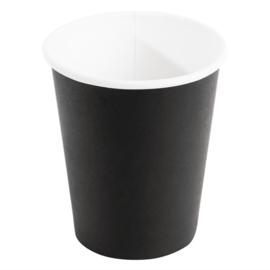 Fiesta koffiebekers enkelwandig zwart 23cl
