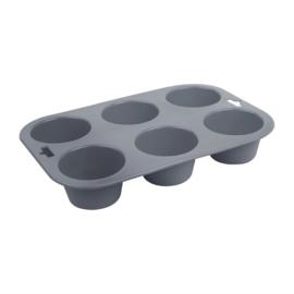 Vogue siliconen bakvorm 6 muffins