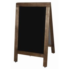 Olympia houten stoepbord 50x85 cm