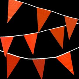 Vlaggenlijnen 10m - oranje
